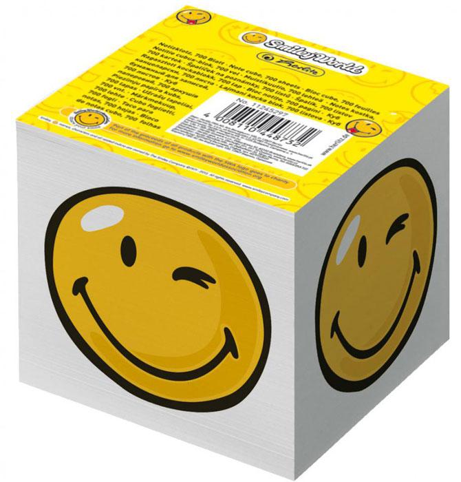 Herlitz Бумага для заметок Smiley World 700 листов11245297Бумага для заметок Herlitz Smiley World - это удобное и практическое решение для быстрой записи информации в домашних или офисных условиях. В блоке 700 листов белой бумаги. Он выполнен в виде куба с изображением подмигивающего смайла. Бумага для заметок Herlitz Smiley World займет свое место среди ваших канцелярских принадлежностей.