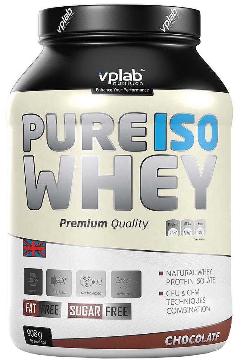Протеин VP Pure Iso Whey 908г шоколад