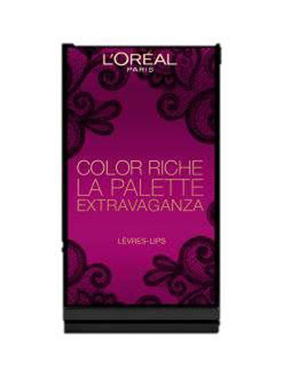LOreal Paris Увлажняющая Палитра помад Color Riche Exravaganza 2016, 74 гA8938600Палитра для губ LOreal Paris, состоящая из 6 потрясающих оттенков, вдохновленных благородным золотым цветом. Золотой может быть деталью или основным акцентом, но никогда не выйдет из моды! В наступающем сезоне золотой проявит себя во всем многообразии вместе с эксклюзивной коллекцией от LOreal Paris: изысканные оттенки, подобранные для каждого типа внешности, самые яркие и чистые пигменты для насыщенного цвета, которые привнесут в образ нотки роскоши и шика.