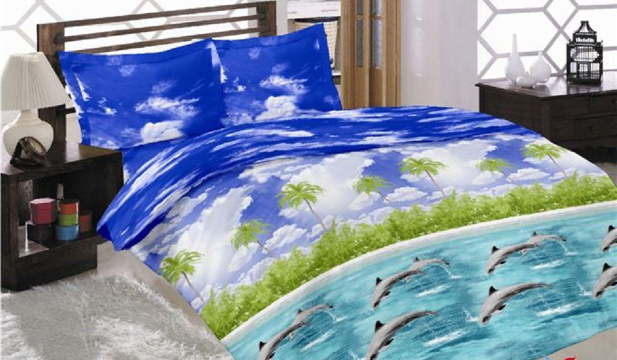 Комплект белья Liya Home Collection Океан, 2-спальный с евро простыней, наволочки 70x70, цвет: голубой0000120000949Liya Tekstil производитель тканей и готовой продукции для дома.В нашем ассортименте комплекты постельного белья из - поплина ( 100% хлопок пл 115х125 гр/м2 ),- сатина ( 100% хлопок пл 130х140 гр/м2,) ,поликаттон (60%хлопка,40%пэ 115гр/м2), крашение реактив.Мы гарантируем ГОСТовский пошив наших комплектов, эксклюзивная упаковка которая пользуется спросом на рынке.