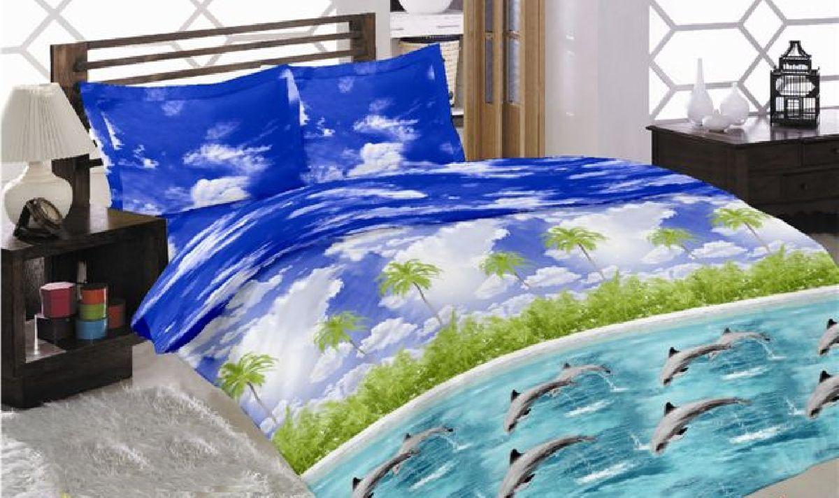 Комплект белья Liya Home Collection Океан, семейный, наволочки 70x70, цвет: голубой0000120001569Liya Tekstil производитель тканей и готовой продукции для дома.В нашем ассортименте комплекты постельного белья из - поплина ( 100% хлопок пл 115х125 гр/м2 ),- сатина ( 100% хлопок пл 130х140 гр/м2,) ,поликаттон (60%хлопка,40%пэ 115гр/м2), крашение реактив.Мы гарантируем ГОСТовский пошив наших комплектов, эксклюзивная упаковка которая пользуется спросом на рынке.