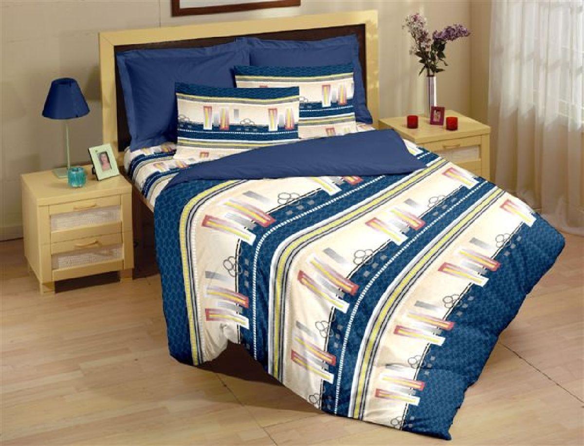 Комплект белья Liya Home Collection Мегаполис, 2-спальный, наволочки 70x70, цвет: голубой0000120002132Liya Tekstil производитель тканей и готовой продукции для дома.В нашем ассортименте комплекты постельного белья из - поплина ( 100% хлопок пл 115х125 гр/м2 ),- сатина ( 100% хлопок пл 130х140 гр/м2,) ,поликаттон (60%хлопка,40%пэ 115гр/м2), крашение реактив.Мы гарантируем ГОСТовский пошив наших комплектов, эксклюзивная упаковка которая пользуется спросом на рынке.