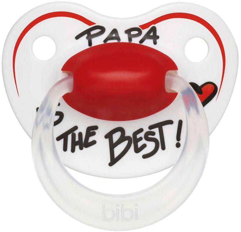 Bibi Пустышка Premium Dental Papa от 16 месяцев113220Пустышка разработана с учетом новейших экспертных рекомендаций и сотрудничества с мамами. Легкая и сбалансированная по весу пустышка для гармоничного восприятия. Бархатистый мягкий и гибкий силикон для комфорта и максимальной безопасности. Пупырышки SensoPearls - для нежного контакта нагубника с кожей малыша. Увеличенные вентиляционные отверстия в нагубнике для комфорта нежной детской кожи. Эргономичная форма нагубника ErgoComfort подходит для всех малышей. Безупречное качество! Ортодонтическая форма соски формирует правильное развитие прикуса. Специальный клапан внутри соски обеспечивает циркуляцию воздуха, поэтому соска всегда остается мягкой и гибкой. Пустышки изготовлены из высококачественного полипропилена (нагубник) и силикона (соска). Защитный колпачок в комплекте с каждой пустышкой. Модный дизайн выполнен совершенно безопасными пищевыми красителями.