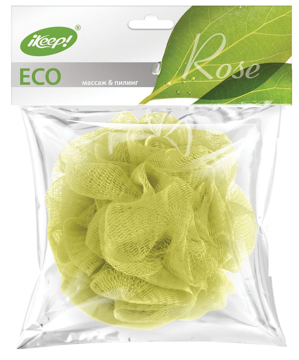 Мочалка Ikeep РозаТП101Гигиенична: не создает условий для размножения бактерий. Мягкая и эластичная: подходит для частого использования и долго сохраняет привлекательный вид в процессе использования.