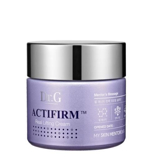 Dr. G Крем с лифтинг эффектом Real Lifting, 50 млDG132560Крем для повышения упругости с выраженным эффектом лифтинга разработан для кожи со сниженными показателями тонуса и эластичности. Низкомолекулярный коллаген помогает активировать клетки собственного колллагена, способствует их росту, повышая упругость и эластичность.