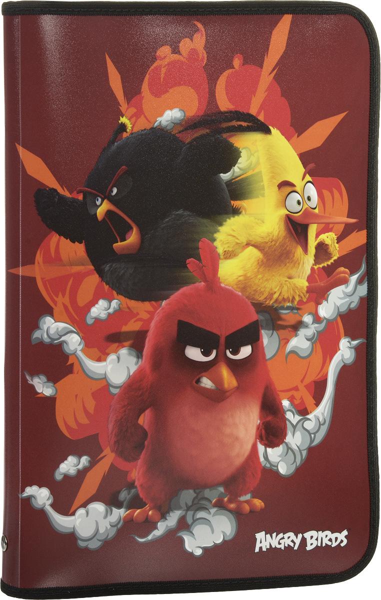 Angry Birds Movie Папка для тетрадейABDB-US1-CPBFLA4Папка Angry Birds Movie имеет одно вместительное отделение на молнии и предназначена для переноски и хранения тетрадей, рисунков и других канцелярских принадлежностей. Она изготовлена из качественного пластика, а ее обложка оформлена изображениями персонажей из знаменитого мультфильма Angry Birds. Эта удобная папка несомненно станет стильным аксессуаром для вашего ребенка в школьных делах. Товар не предназначен для детей младше 3-х лет.