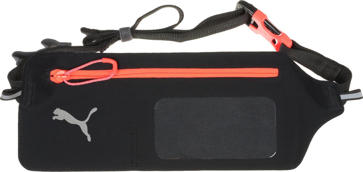 Поясная сумка Puma PR Flat Waist Bag, цвет: черный. 07414406