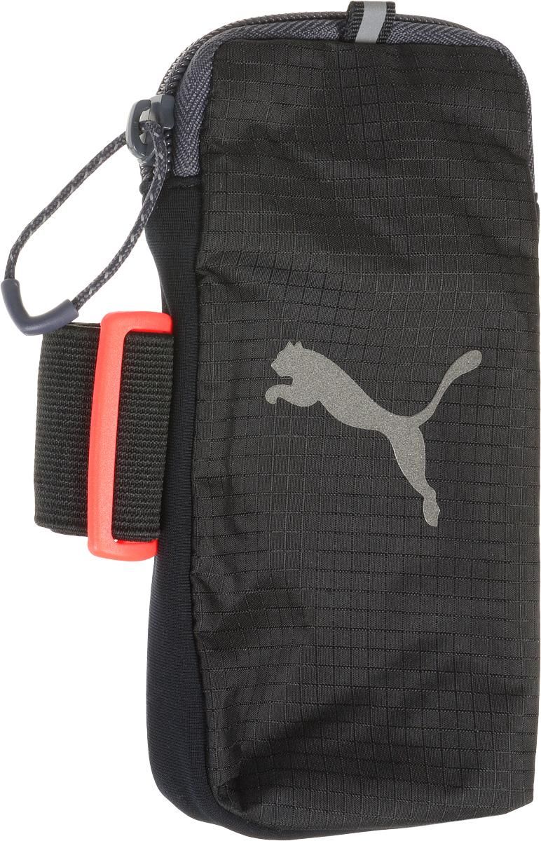 Сумка/чехол для мобильных устройств Puma PR Arm Pocket, цвет: черный. 05306106