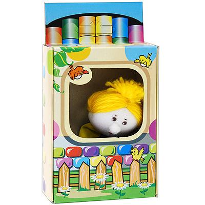 Кукла пальчиковая Бабка004.39Кукла пальчиковая Бабка, выполненная в ярких и насыщенных тонах, станет великолепным дополнением к вашему пальчиковому театру. Играть и ставить спектакли с пальчиковыми куклами необыкновенно интересно. Управлять такой куклой сможет даже ребенок. Играя, малыш разовьет мелкую моторику рук, а сочиняя сценарии - воображение.