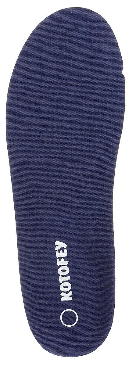 Стельки детские Котофей, цвет: темно-синий. TSH0001-02. Размер 35