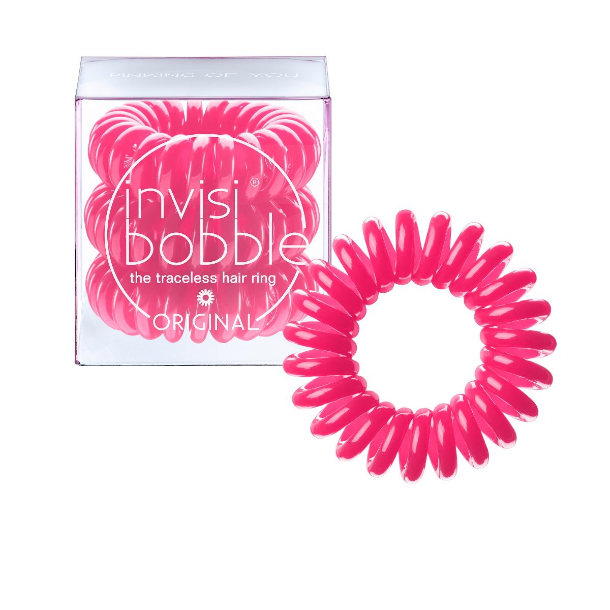 Invisibobble Резинка-браслет для волос Original Pinking of You3045Резиночка invisibobble pinking on you в розовом цвете из коллекции ORIGINAL приносит счастье и радость, а заодно привлекает к себе всеобщее внимание. В коллекцию ORIGINAL вошли наиболее популярные цвета резинок-браслетов, а также новые цвета для создания безупречного образа на каждый день. Резинки-браслеты invisibobble подходят для всех типов волос, надежно фиксируют причёску, не оставляют заломов и не вызывают головную боль благодаря неравномерному распределению давления на волосы. Кроме того, они не намокают и не вызывают аллергию при контакте с кожей, поскольку изготовлены из искусственной смолы.