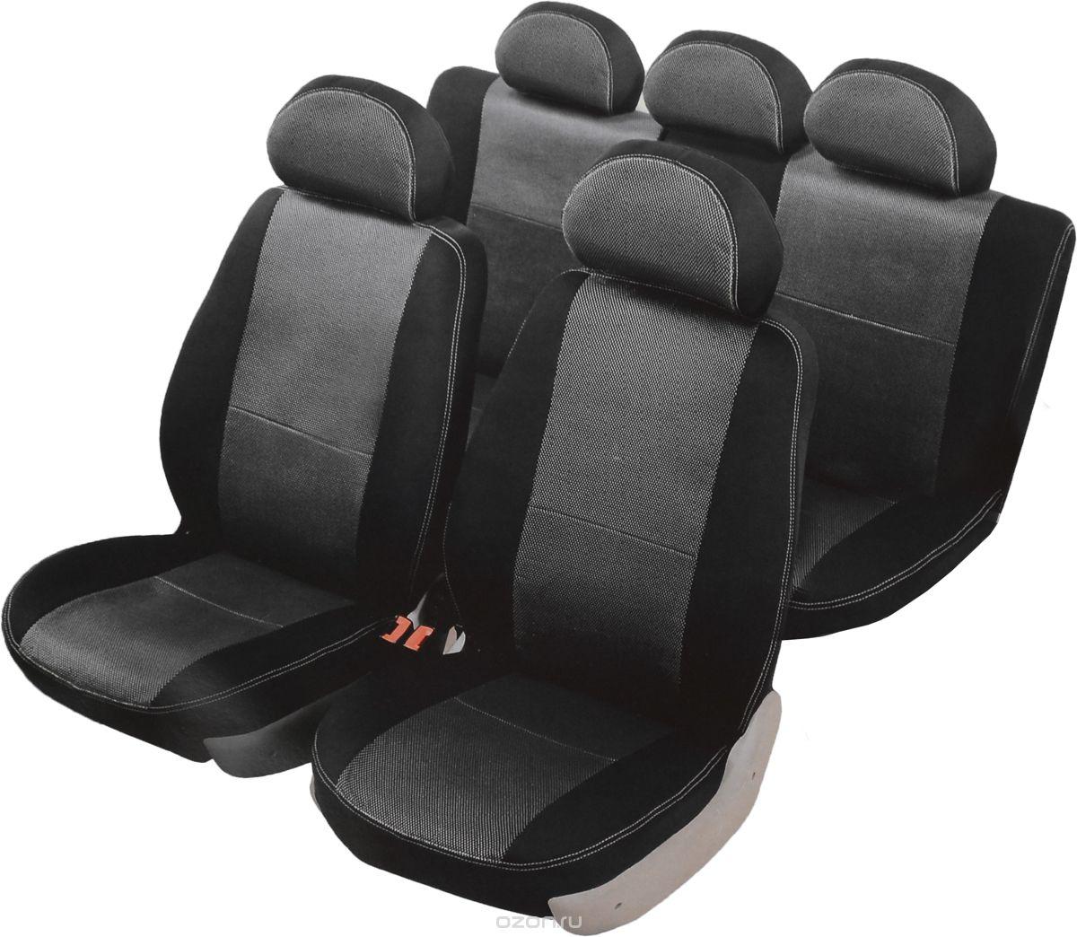 Чехлы автомобильные Senator Dakkar, для Renault Duster 2011-, раздельный задний рядS3010391Автомобильные чехлы Senator Dakkar изготовлены из качественного жаккарда, триплированного огнеупорным поролоном толщиной 5 мм, за счет чего чехол приобретает дополнительную мягкость. Подложка из спандбонда сохраняет свойства поролона и предотвращает его разрушение. Водительское сиденье имеет усиленные швы, все внутренние соединительные швы обработаны оверлоком. Чехлы идеально повторяют штатную форму сидений и выглядят как оригинальная обивка сидений. Разработаны индивидуально для каждой модели автомобиля. Дизайн чехлов Senator Dakkar приближен к оригинальной обивке салона. Жаккардовый материал расположен в центральной части сидений и спинок, а также на подголовниках. Декоративная контрастная прострочка по периметру авточехлов придает стильный и изысканный внешний вид интерьеру автомобиля. В спинках передних сидений расположены карманы, закрывающиеся на молнию. Чехлы задних сидений закрывают всю поверхность, включая тыльную сторону спинки (со стороны...