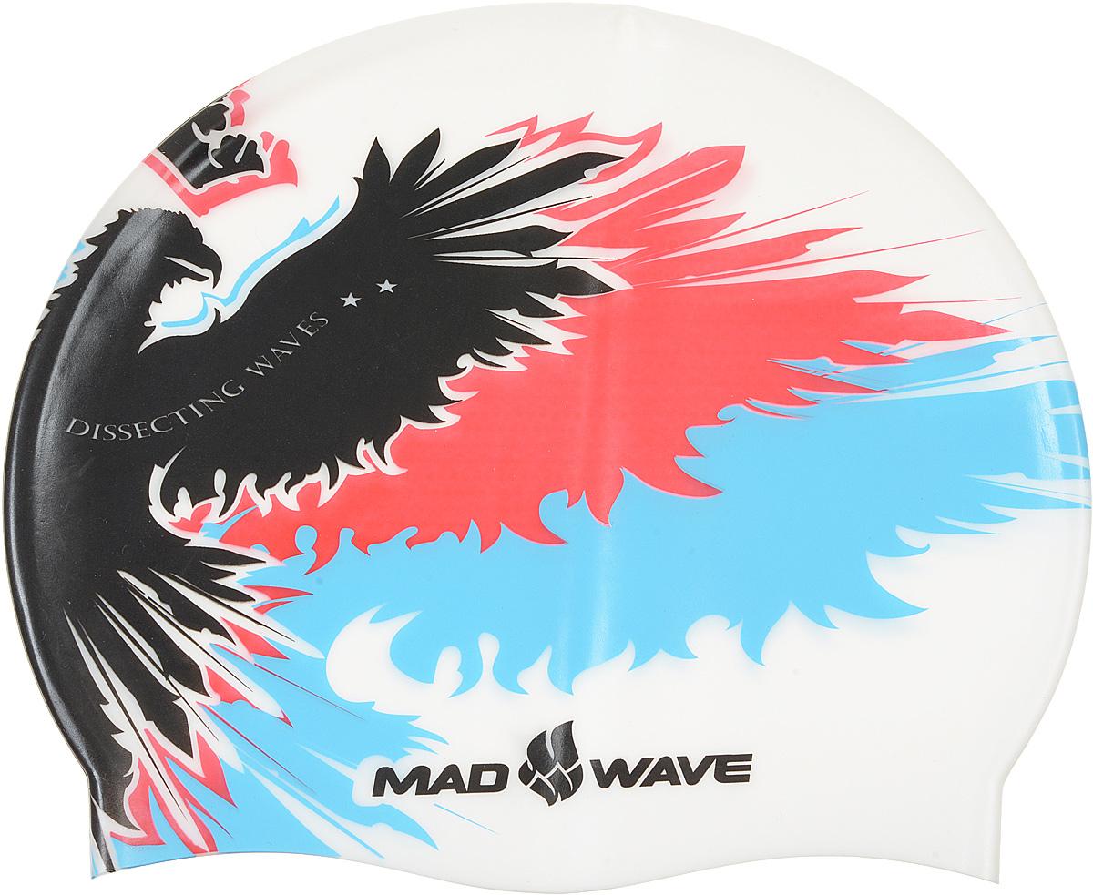 Шапочка для плавания MadWave Empire, цвет: белыйM0552 02 0 02WШапочка для плавания MadWave Empire классической плоской формы с рисунком имперского орла. Изготовлена из высококачественного силикона устойчивого к воздействию хлорированной воды, что обеспечивает долгий срок использования. Характеристики: Материал: силикон. Размер шапочки: 22 см x 19 см. Производитель: Китай. Артикул: M0552 02 0 02W.