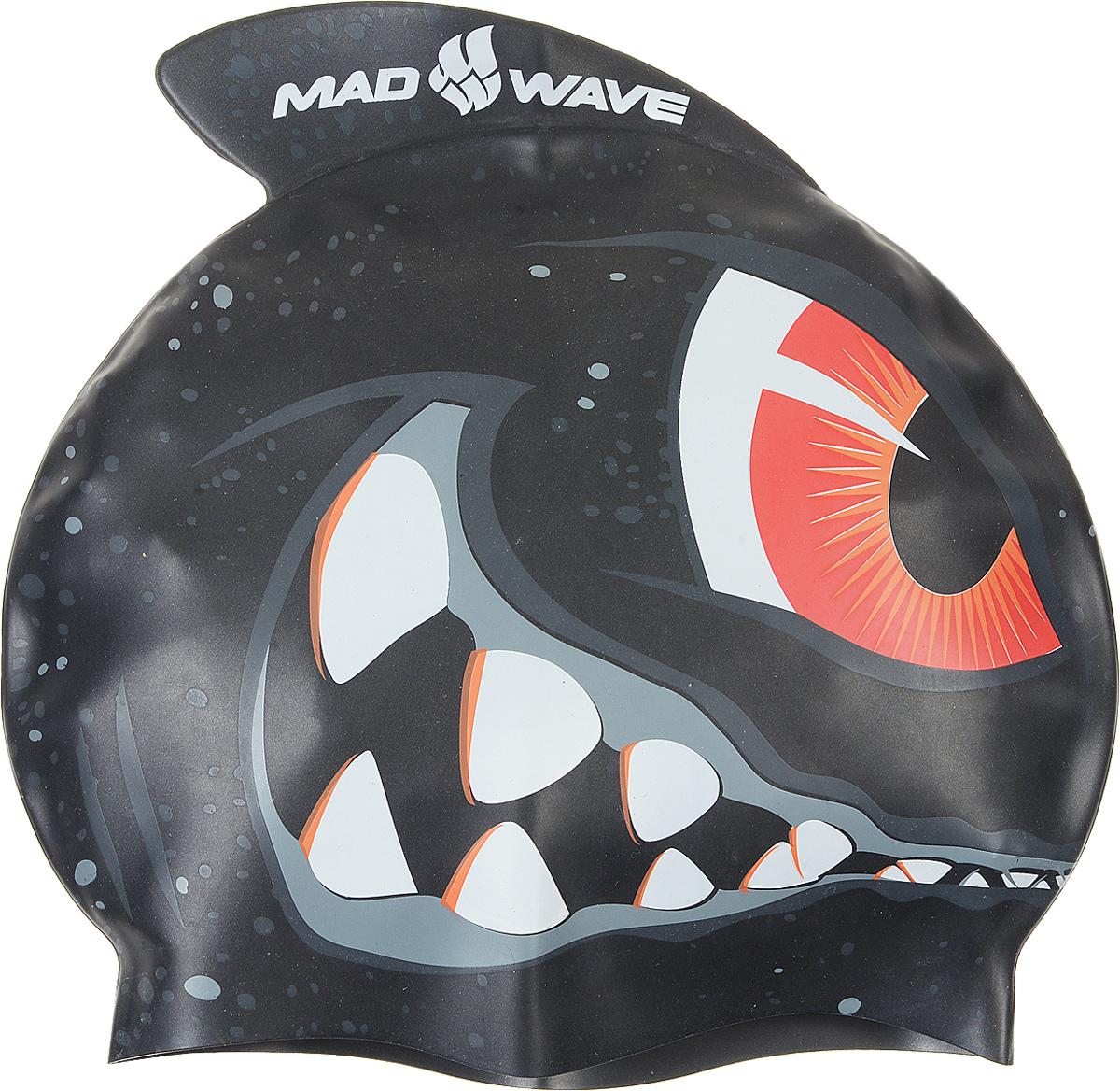 Детская шапочка для плавания MadWave Shark, силиконоваяM0542 02 0 00WДетская силиконовая шапочка MadWave Shark c рисунком в виде монстра на боковой части и плавником, который был создан нашими дизайнерами специально для этой серии. Данная шапочка особенно подойдёт юным спортсменам, которые уверенны в себе на все 100%.