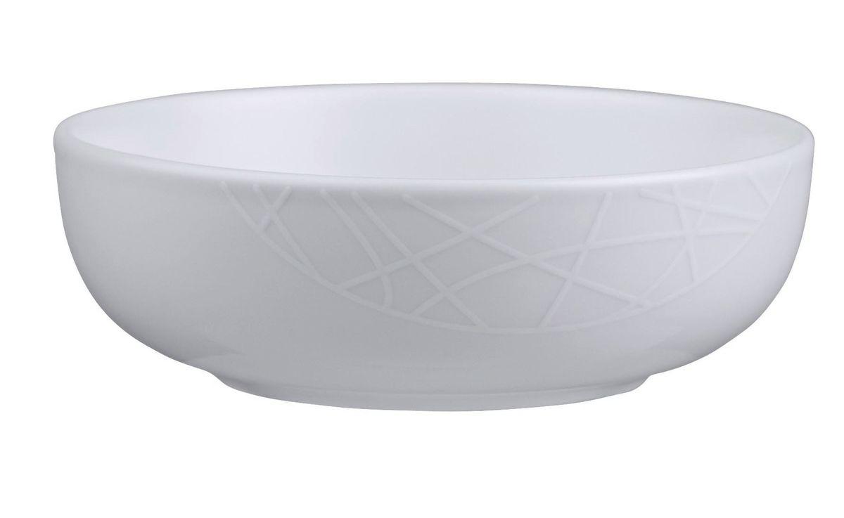 Миска Churchill, диаметр 14 см. 670206501670206501Джейми Оливер. Простой орнамент с тонкими текстурными линиями. Коллекция «Белое на белом» - лёгкий и непринуждённый стиль. Посуда этой коллекции износостойкая и ударопрочная.