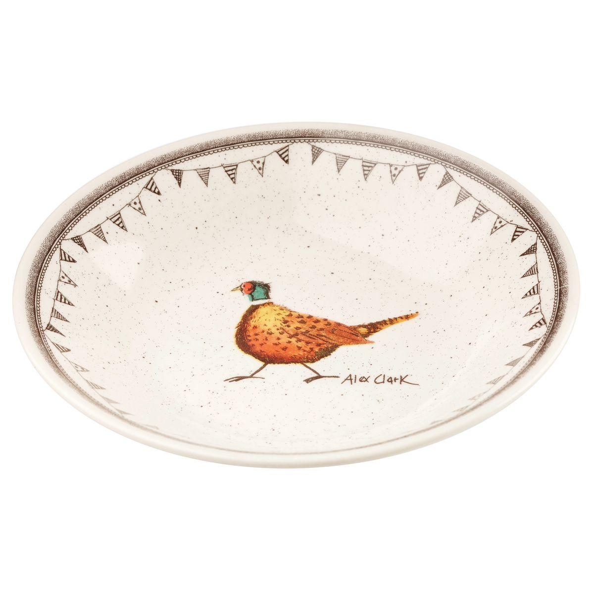 Тарелка суповая Churchill, диаметр 26 см. ACWL00081ACWL00081Коллекция Живая природа - уникальное сочетание живой природы и прекрасные воспоминания из детства. Лёгкий и простой дизайн с пастельными красками идеально подойдёт для любой кухни. Материал: Фарфор, керамика, фаянс, костяной фарфор. Можно мыть в посудомоечной машине Можно использовать в микроволновой печи