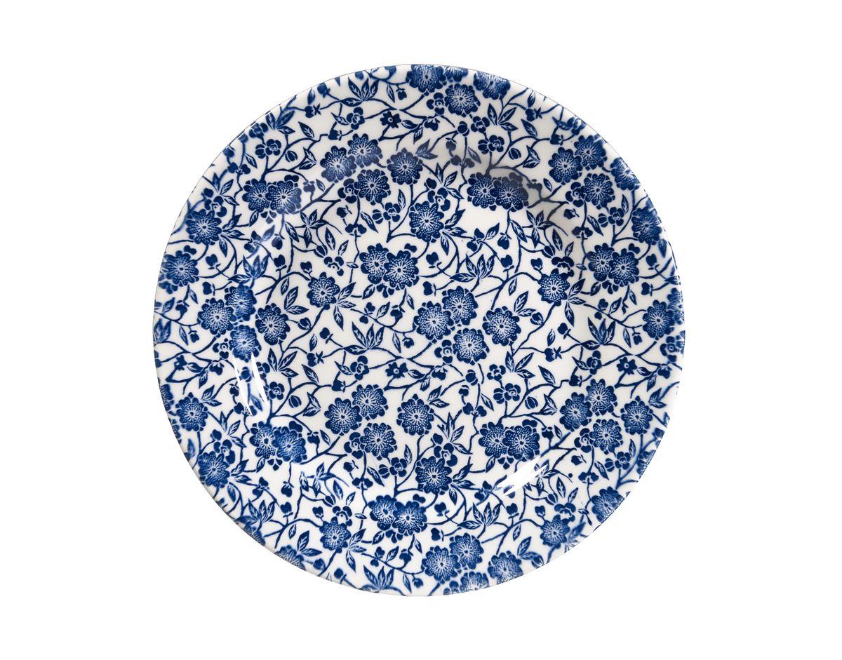 Тарелка Churchill, цвет: синий, диаметр 20 см. CABL00081CABL00081Викторианский стиль Отличается традиционным орнаментом, сочетает маленький рисунок цветов с богатым синим цветом. Можно мыть в посудомоечной машине Можно использовать в микроволновой печи Внимание: посуда с позолоченным орнаментом запрещена для использования в микроволновой печи, т.к. металлическая позолота может привести к искрообразованию в камере микроволновой печи.