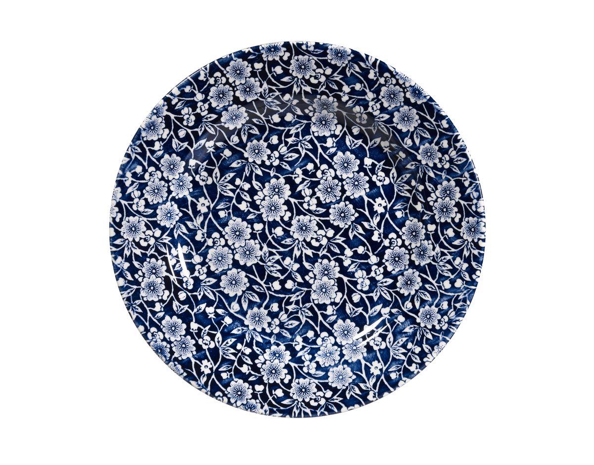 Тарелка десертная Churchill, цвет: белый, диаметр 20 см. CABL00121CABL00121Викторианский стиль Отличается традиционным орнаментом, сочетает маленький рисунок цветов с богатым синим цветом. Можно мыть в посудомоечной машине Можно использовать в микроволновой печи Внимание: посуда с позолоченным орнаментом запрещена для использования в микроволновой печи, т.к. металлическая позолота может привести к искрообразованию в камере микроволновой печи.