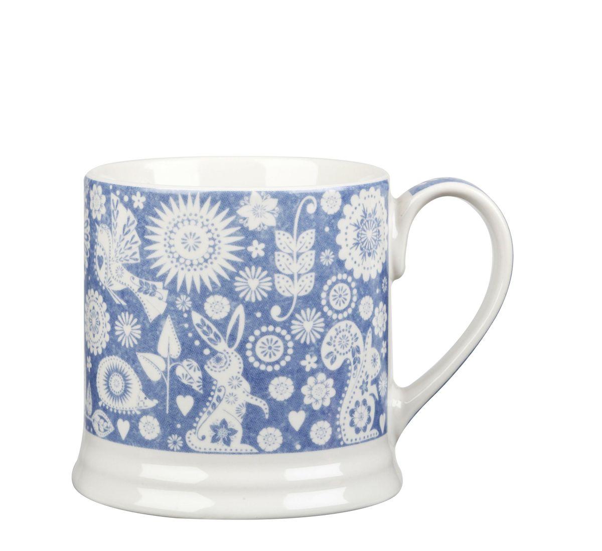Кружка Churchill Ильм, 350 мл. PENZ00021PENZ00021Коллекция Penzance - классическое сочетание синего и белого с народным дизайном. Материал: фарфор, фаянс, керамика. Можно мыть в посудомоечной машине Можно использовать в микроволновой печи
