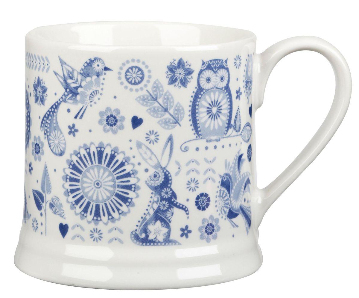 Кружка Churchill Ильм, 300 мл. PENZ00031PENZ00031Коллекция Penzance - классическое сочетание синего и белого с народным дизайном. Материал: фарфор, фаянс, керамика. Можно мыть в посудомоечной машине Можно использовать в микроволновой печи