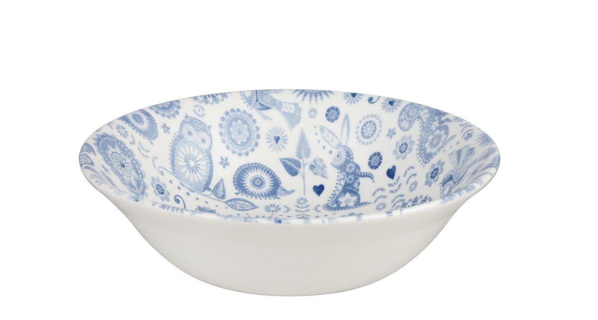 Тарелка Churchill, диаметр 15,5 см. PENZ00181PENZ00181Коллекция Penzance - классическое сочетание синего и белого с народным дизайном. Материал: фарфор, фаянс, керамика. Можно мыть в посудомоечной машине Можно использовать в микроволновой печи