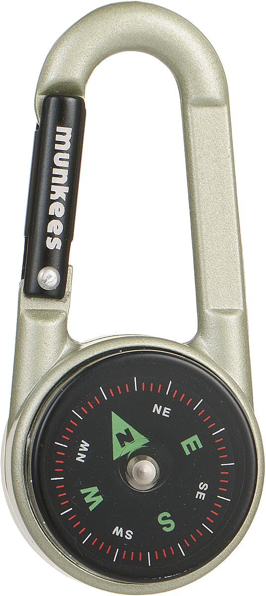 "Карабин ""Munkees"", с компасом и термометром 3135"