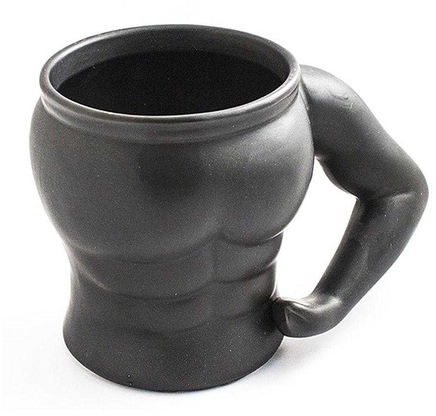 Кружка Эврика Культурист 1 бицепс97086Кружка для настоящих мужчин и их поклонниц! Изготовленная из качественной керамики в форме атлетического мужского торса, эта кружка с любимым напитком наполнит силой, уверенностью и энергией ваш день.