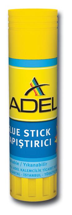 Adel Клей-карандаш434-1504-000Клей-карандаш Adel идеально подходит для склеивания бумаги, картона и ткани. Выкручивающийся механизм обеспечивает постепенное выдвижение клеящего стержня из пластикового корпуса. Клей-карандаш экологически безопасен, быстро сохнет, не оставляет следов после высыхания и не содержит растворителей. Вес клея: 36 гр.