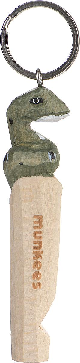 Брелок-свисток Munkees Змея3356Брелок-свисток Munkees Змея - это свисток с вырезанной вручную фигуркой, выполненной из дерева. Фигурка символизирует знак зодиака по восточному календарю. Сам свисток можно использовать на групповых тренировках, можно в качестве дрессировки собак, а можно и в экстренных случаях, обратить на себя внимание либо отпугнуть недоброжелателей или агрессивных животных. Такой свисток станет оригинальным и практичным подарком.