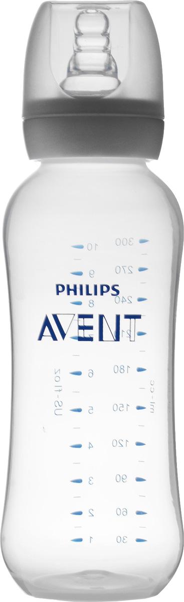Philips Avent Бутылочка для кормления Essential от 6 месяцев 300 млSCF972/17С бутылочкой Philips Avent Essential кормление вашего малыша станет значительно проще. Мягкий материал и ребра жесткости соски помогают малышу легко захватить соску, обеспечивая спокойное и комфортное кормление. Антиколиковый клапан пропускает воздух в бутылочку, а не в животик малыша. Бутылочка не протекает во время кормления, а уплотнительный колпачок закрывает соску, обеспечивая надежное хранение и защиту от протекания во время путешествий. Благодаря эргономичной форме бутылочку удобно держать как маме, так и малышу. Для удобства, бутылочка оснащена мерной шкалой. Не содержит бисфенол А.