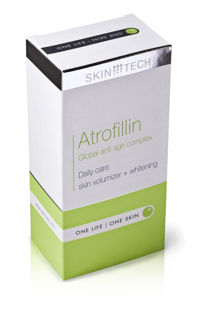 Skin Tech Крем для лица Atrofillin, 50 млAC-D4-22Универсальный антивозрастной комплекс. Содействует профилактике и замедлению возрастных изменений атрофического характера, истончения кожи и возрастной пигментации. Выравнивает неоднородный тон, освежает цвет лица, уменьшает симптомы ослабления и сухости кожи, улучшая ее плотность и толщину (содействует локальному восстановлению подкожно-жировой клетчатки). Быстро впитывается, не оставляя ощущения жирности или липкости. Подходит для любого типа кожи, включая чувствительную и возрастную с признаками естественного и/или фотостарения.