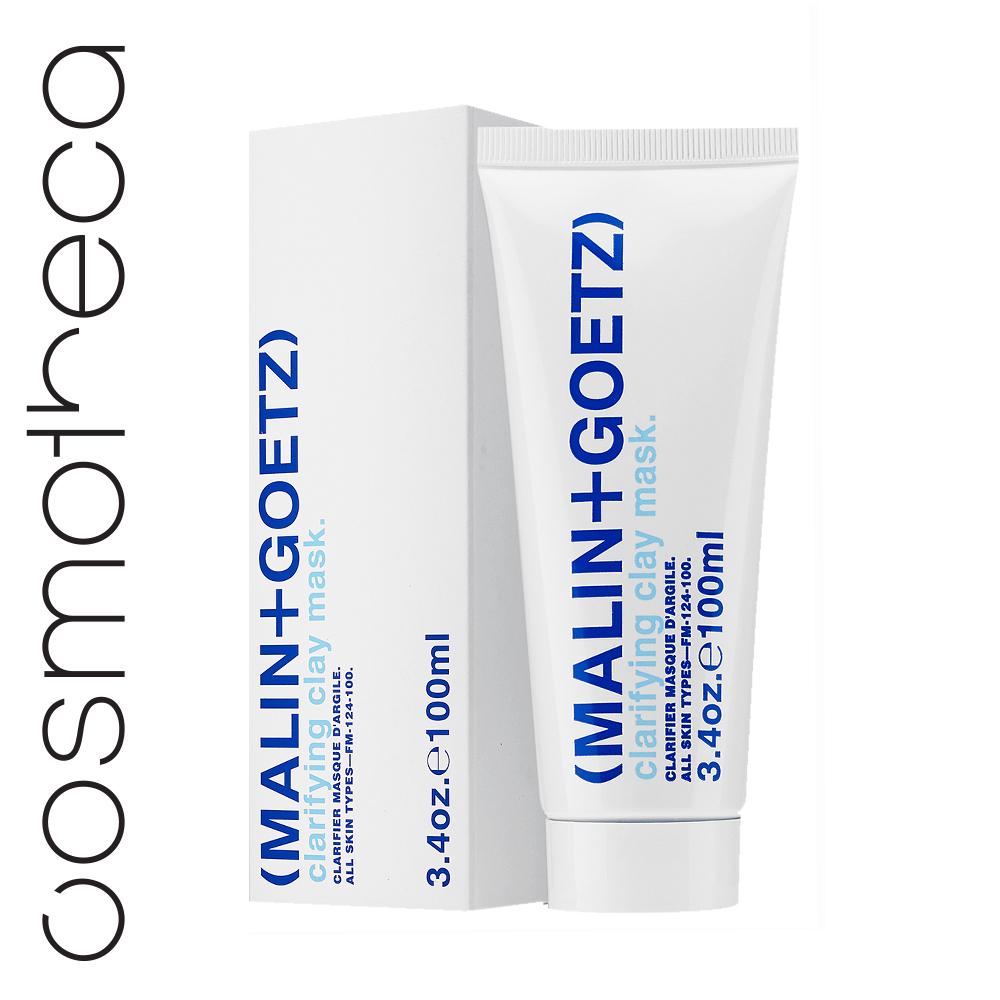 Malin+Goetz Очищающая глиняная маска для лица 100 млMG124Глубоко очищающая отшелушивающая маска подходит для всех типов кожи включая особо чувствительную. Если наш бестселлер, Детокс-маска, создана для нормальной и комбинированной кожи, то Очищающая маска с глиной подходит для жирной и проблемной кожи, оказывая на нее эффективное воздействие не вызывая раздражения. Очищенный каолин в составе средства абсорбирует кожное сало и очищает поры от загрязнений, порошок пемзы эффективно отшелушивает отмершие клетки, а гамамелис и арника борются с бактериями и раздражением. За 10 минут маска сужает поры, вытягивает из них загрязнения и улучшает цвет и текстуру кожи, придавая ей свежий и здоровый вид.