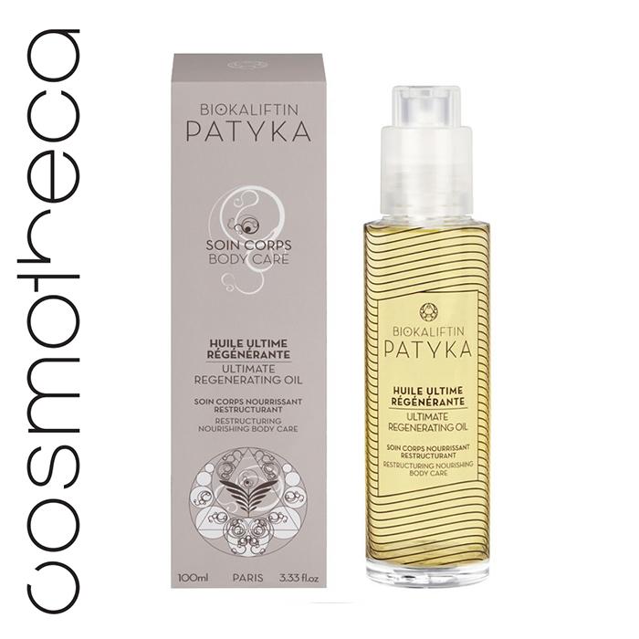 Patyka Cosmetics Масло для тела восстанавливающее 100 млPTK0300О СРЕДСТВЕ Регенерирующее масло замедляет процессы старения в коже, регенерирует и укрепляет клетки кожи. Интенсивно питает и омолаживает, делая кожу более упругой. ОСОБЕННОСТИ 3 антивозрастных действия: ревитализация, восстановление и регенерация Текстура: мягкое и нежирное масло. Фокус на восстановлении и обновлении клеткок Каждая клетка тела непрерывно обновляется – это называется «процессом регенерации клеток». В этот момент клетка делится на две части, одна из которых постепенно восходит к поверхности кожи и становится частью рогового слоя кожи, который позже отмирает и удаляется. Вторая часть клетки остается в глубинных слоях и продолжает делиться. Ткани кожи все время подвергаются агрессивному внешнему воздействию. Их восстановление становится возможным благодаря принципу обновления (регенерации) клеток. Со временем, клетки кожи регенерируются меньше и медленнее.