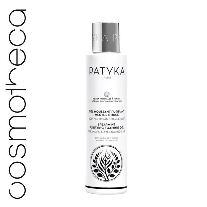 Patyka Cosmetics Гель-пена для лица очищающая Мята 150 млPTK1203• Очищает, освежает, насыщает кожу кислородом, удаляет все загрязнения и остатки макияжа • сужает поры, создает свежий цвет лица • балансирует кожную экосистему