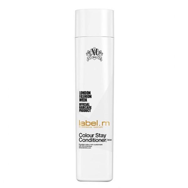 Label.m Кондиционер защита цвета, 300 млLCCS0300Кондиционер надолго сохраняет цвет окрашенных волос. Содержит жожоба, гидролизованный шелк, алоэ барбадосское и экстракт подсолнечника для интенсивного увлажнения. Комплекс Enviroshield защищает цвет, а также предотвращает повреждение во время укладки и защищает от УФ лучей.
