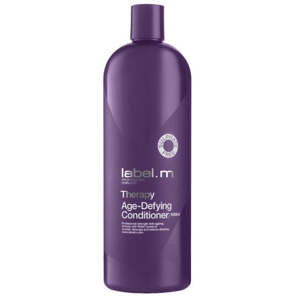 Label.m Кондиционер Антивозрастная Терапия, 1000 млLCTA1000Питательная формула с Белой Икрой облегчает расчесывание и возвращает волосам здоровый вид. Придает волосам силу и возвращает шелковистость. Не содержит сульфаты, парабены и хлорид натрия.