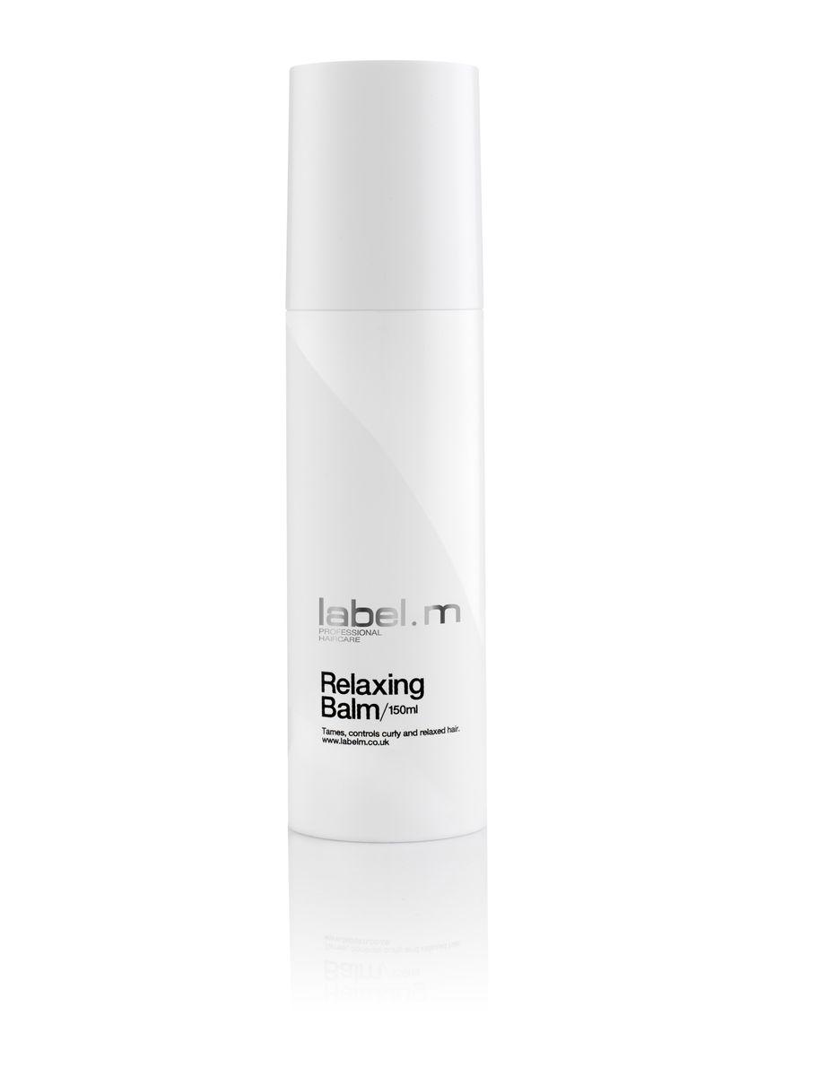 Label.m Бальзам релаксирующий, 150 млLFRB0250Нежирный увлажняющий бальзам, придающий блеск. Подходит для натуральных вьющихся волос, смягчает и разглаживает непослушные волосы. Выравнивает секущиеся кончики. Подходит для волос с химической завивкой. Содержит инновационный комплекс Enviroshield, который защищает волосы от термического воздействия во время укладки и от УФ лучей и воздействия окружающей среды.