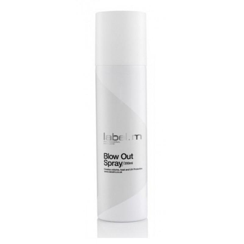 Label.m Спрей для объема Blow Out Spray, 500 млLFST0500Кондиционирует, увлажняет и защищает волосы при использовании фена и утюгов. Защищает от влажности. Придает объем, легкую фиксацию. Содержит инновационный комплекс Enviroshield, который защищает волосы от термического воздействия во время укладки и от УФ лучей и воздействия окружающей среды.