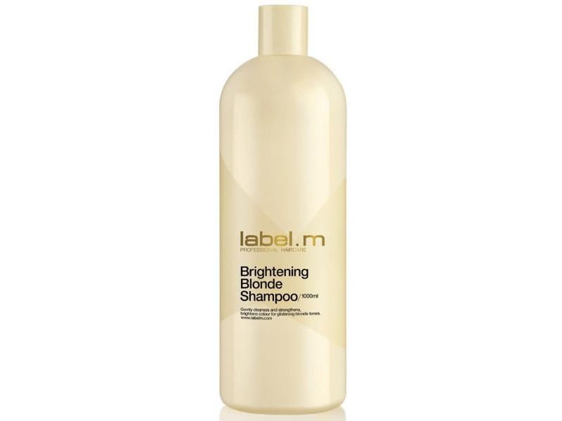 Label.m Осветляющий шампунь для блондинок Brightening Blonde Shampoo - 1000 млLSBB1000Мягко очищает и увлажняет волосы, постепенно осветляя их, предотвращает пересыхание и появление медных оттенков.
