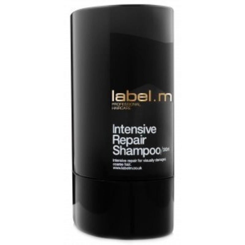 Label.m Шампунь Интенсивное восстановление, 1000 млLSCR1000Богатый питательный шампунь для сухих и поврежденных волос. Содержит комплекс аминокислот сои и овсяных зерен. Интенсивно восстанавливает все три слоя волоса. Эксклюзивный комплекс Enviroshield защищает волосы от термического воздействия во время укладки и от УФ лучей.