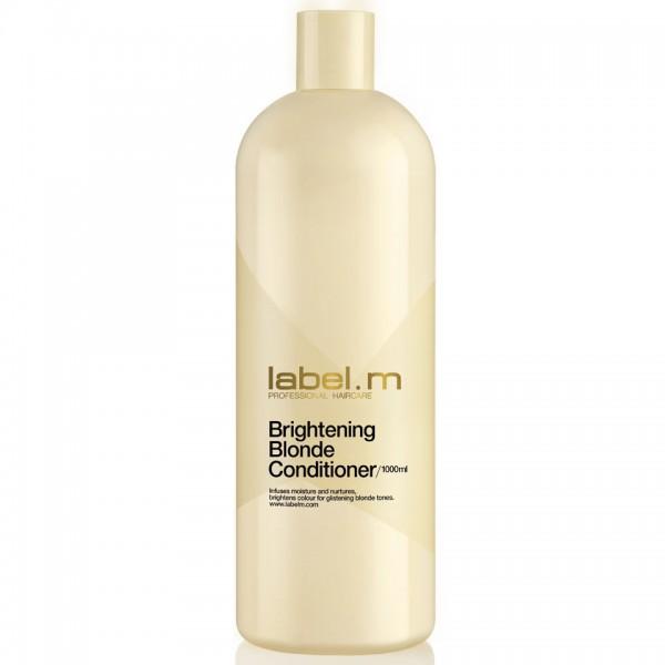 Label.m Осветляющий кондиционер для блондинок Brightening Blonde Conditioner - 1000 млLCBB1000*Насыщает волосы влагой и осветляет, питает и защищает от сухости, спутывания и ломкости.