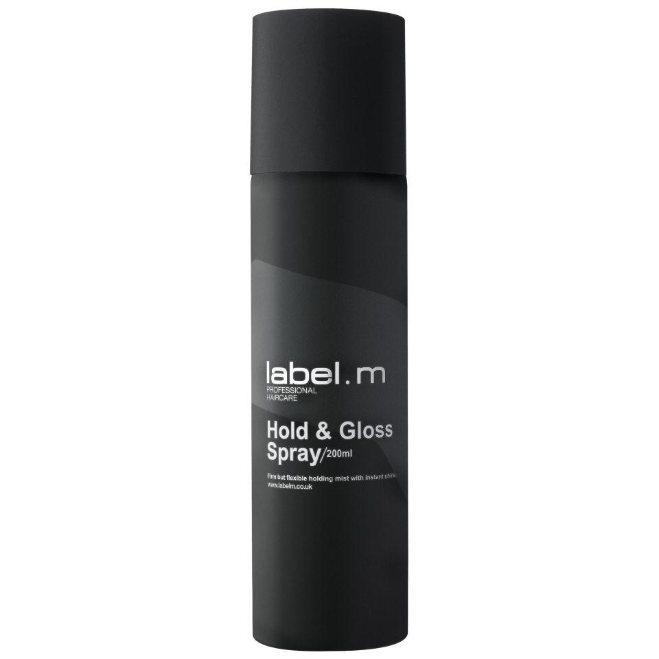 Label. M Label.m Спрей Фиксация и Блеск Hold and Gloss Spray, 200 мл