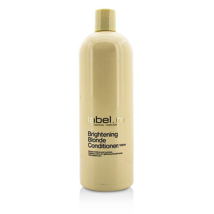 Label.m Осветляющий кондиционер для блондинок Brightening Blonde Conditioner, 300 млLCBB0300*Насыщает волосы влагой и осветляет, питает и защищает от сухости, спутывания и ломкости.