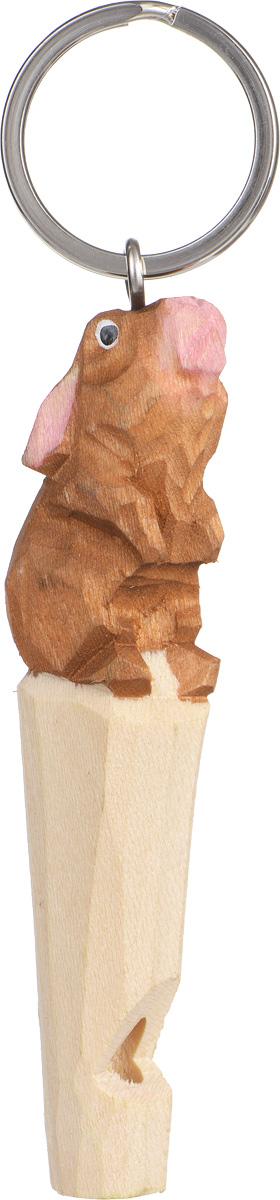 Брелок-свисток Munkees Кролик3354Брелок-свисток Munkees Кролик - это свисток с вырезанной вручную фигуркой, выполненной из дерева. Фигурка символизирует знак зодиака по восточному календарю. Сам свисток можно использовать на групповых тренировках, можно в качестве дрессировки собак, а можно и в экстренных случаях, обратить на себя внимание либо отпугнуть недоброжелателей или агрессивных животных. Такой свисток станет оригинальным и практичным подарком.