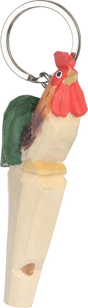 Брелок-свисток MUNKEES Петух3360Брелок-свисток MUNKEES Петух выполнен из дерева и раскрашен в ручную. В 2017 году этот брелок будет иметь особый смысл, так как по восточному зодиакальному календарю 2017 год – это год Красного Огненного Петуха. Брелок-свисток MUNKEES Петух станет оригинальным и практичным подарком.