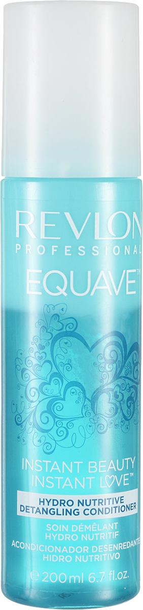 Revlon Professional Equave Несмываемый разглаживающий кондиционер увлажняющий и питающий Instant Beauty Hydro Nutritive Detangling