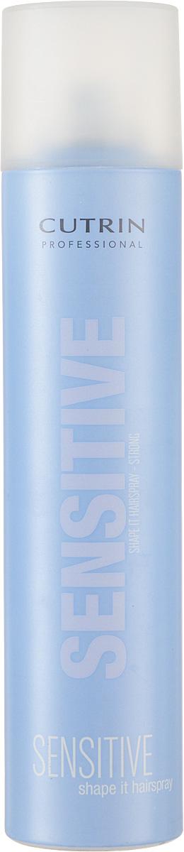 Cutrin Лак сильной фиксации без отдушки Fragrance Free Shape It Hair Spray Strong, 300 млCUG11-12687Мгновенно высыхает, легко удаляется при расчесывании. Входящий в состав продукта пантенол обспечивает дополнительный ухаживающий эффект, защищает от негативных внешних факторов. За счет отсутствия отдушки не оказывает раздражающего воздействия на органы дыхания.