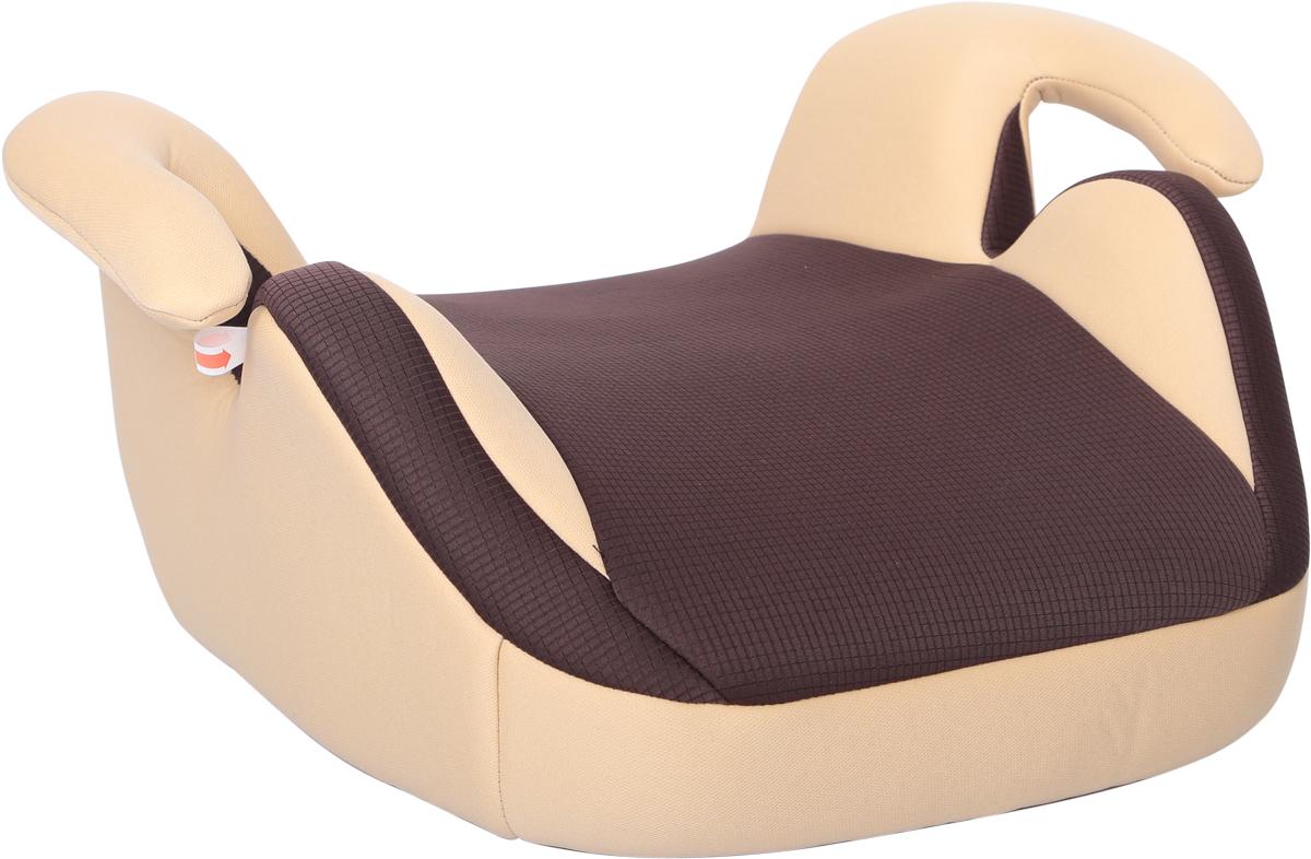 Zlatek Бустер Corvet цвет коричневыйKRES0492Детское автокресло Zlatek «Corvet» относится к возрастной группе 3 и используется для детей от 6 до 12 лет, весом от 22 до 36 кг. В основе кресла Zlatek «Corvet» усиленный каркас. Особая конструкция подлокотников создает дополнительный комфорт во время путешествия. Увеличенные бортики защищают ребенка от смещения и боковых ударов. Чехол автокресла Zlatek «Corvet» выполнен из нетоксичного гипоаллергенного материала. Детские удерживающие устройства Zlatek разработаны и сделаны в России с учетом анатомии детей. Увеличенное посадочное место обеспечивает удобство в поездке, как в летней, так и в зимней одежде. Автокресло успешно прошло все необходимые краш-тесты и имеет сертификат соответствия техническому регламенту РФ и таможенному союзу. Автокресло Zlatek «Corvet» упаковано в защитную полиэтиленовую пленку.