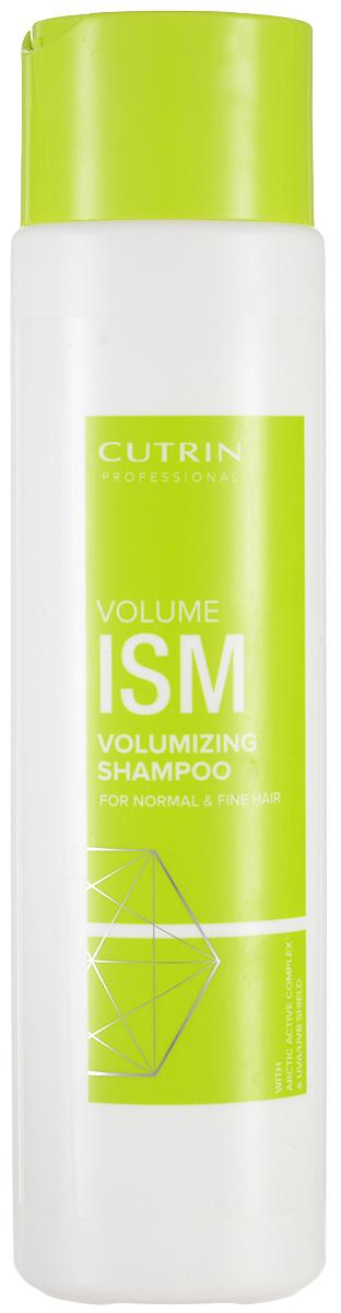 Cutrin Шампунь для придания объема Volumism Shampoo, 300 мл12620Cutrin VOLUMISM придает дополнительный объем тонким и нормальным волосам при помощи уникального комплекса VolumeComplexTM: Березовый сахар (ксилитол) восстанавливает оптимальный гидробаланс, укрепляет волосы. Экстракт из березовых листьев и березовый сок дополняют и усиливают действие ксилитола. Хитозан обеспечивает объем и блеск. Касторовое масло, глицерин и пантенол оказывают ухаживающий эффект не только на волосы, но и на кожу головы.