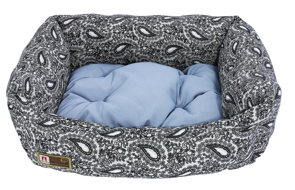 Лежак для животных Зоогурман Саваж, 45 х 56 х 16 см2847